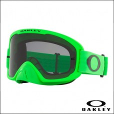 Oakley O Frame 2.0 PRO MX Moto Green - Lens Dark Grey
