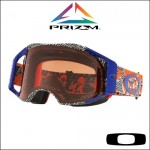 Oakley Airbrake MX Prizm™ Dazzle Dyno Orange Blue - Lente Bronze *
