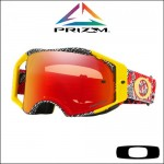 Oakley Airbrake MX Prizm™ Dazzle Dyno Red Yellow - Lente Torch *