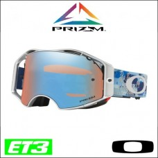 "*Oakley Airbrake MX Prizm™ Tomac ""Military Digy Blue"" Signature - Lente Sapphire"