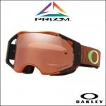 S - Oakley Airbrake MX Toby Price Sig. Oasis Orange - Lente Prizm MX Black