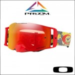 Oakley Front Line MX Dazzle Dyno Red Yellow - Lente Prizm™ Torch *