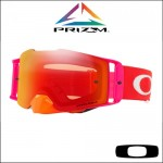 Oakley Front Line MX Pinned Race Orange Red - Lente Prizm™ Torch *