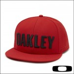 Oakley Hat Perf  - Red Line