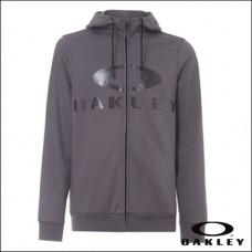 Oakley Hoodie Bark Fz Forged Iron - M