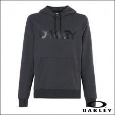 Oakley Hoodie B1B PO - Blackout Light Heather - S