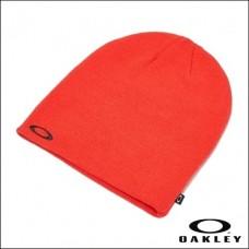 Oakley Beanie Fine Knit - Poopy Red