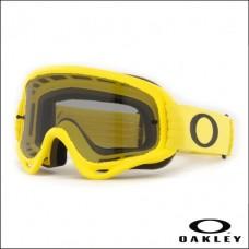 Oakley O Frame MX Moto Yellow - Lente Dark Grey