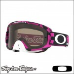 Oakley O Frame 2.0 MX TLD Race Shop Pink - Lente Dark Grey e Clear