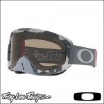 Oakley O Frame 2.0 MX TLD Low Vis Grey - Lente Dark Grey e Clear