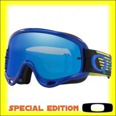 Oakley O Frame MX Circuit Yellow Blue - Lente Black Ice Iridium