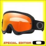 Oakley O Frame MX Carbon Fiber - Lente Fire Iridium