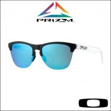 Oakley Frogskins Lite Matte Black/Matte Clear - Lente Prizm™ Sapphire Iridium