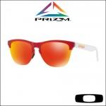 Oakley Frogskins Lite Matte Translucent Red - Lente Prizm™ Ruby Iridium