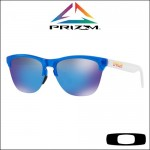 Oakley Frogskins Lite Matte Translucent Sapphire - Lente Prizm™ Sapphire Iridium