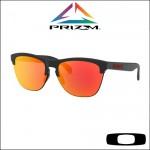 Oakley Frogskins Lite Matte Black - Lente Prizm™ Ruby Iridium