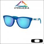 Oakley Frogskins Mix Matte Translucent Sapphire - Lente Prizm™ Sapphire Iridium