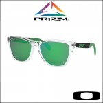 Oakley Frogskins Mix Polished Clear - Lente Prizm™ Jade Iridium
