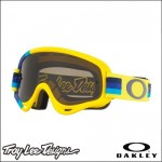 Oakley XS O Frame TLD Pre-Mix Yellow Blue - Lente Dark Grey